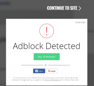 You cannot access this website without disabling AdBlock. Advertising needs to be enabled.